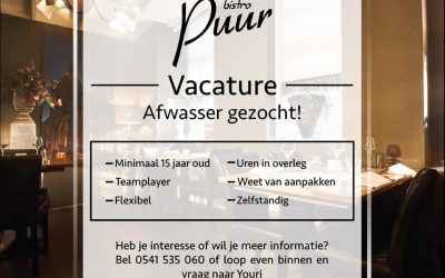 Pure Vacature!